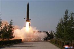 Nhật Bản gửi công hàm phản đối Triều Tiên phóng tên lửa tầm ngắn