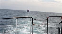 Tàu cá cùng 34 ngư dân gặp nạn ở khu vực quần đảo Trường Sa