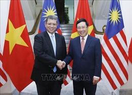 Phó Thủ tướng, Bộ trưởng Ngoại giao Phạm Bình Minh hội đàm với Bộ trưởng Ngoại giao Malaysia