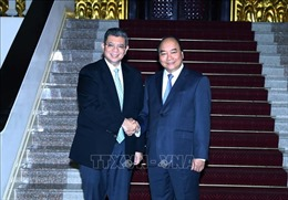 Thủ tướng Nguyễn Xuân Phúc tiếp Bộ trưởng Ngoại giao Malaysia
