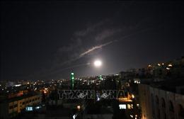 SANA: Hệ thống phòng không Syria đánh chặn các vật thể từ Israel