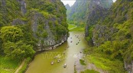 Ninh Bình khai mạc Tuần du lịch 'Sắc vàng Tam Cốc - Tràng An' năm 2019