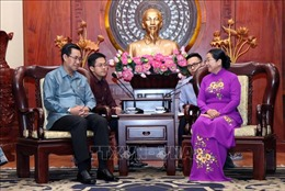 Đẩy mạnh hợp tác giữa Đoàn Thanh niên TP Hồ Chí Minh và Lào