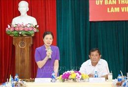 Đoàn công tác Ủy ban Trung ương Mặt trận Tổ quốc Việt Nam làm việc tại An Giang