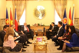 Việt Nam và CH Séc thúc đẩy triển khai hợp tác kinh tế