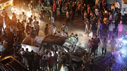 Đánh bom xe tại Syria, 17 người thiệt mạng