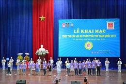 348 học sinh tham gia cuộc thi Câu lạc bộ Toán tuổi thơ toàn quốc 2019