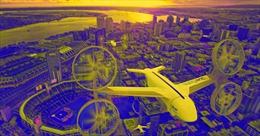 Uber thử nghiệm dịch vụ giao đồ ăn bằng máy bay không người lái