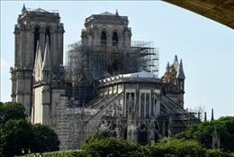 Thánh lễ đầu tiên tại Nhà thờ Đức bà Paris sau vụ hỏa hoạn kinh hoàng
