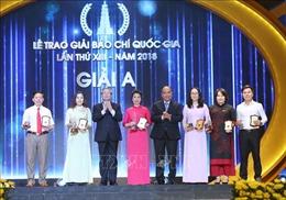 TTXVN đoạt 5 giải cao tại Giải Báo chí Quốc gia lần thứ XIII, năm 2018