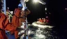 Cứu nạn khẩn cấp thuyền viên bị tai nạn lao động trên vùng biển Nam vịnh Bắc Bộ
