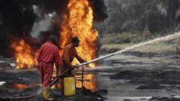 Đục trộm đường ống dẫn dầu gây nổ, ít nhất 10 người thương vong