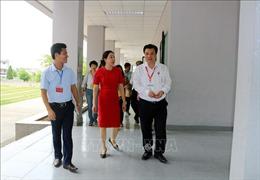 Thứ trưởng Nguyễn Hữu Độ kiểm tra công tác thi THPT quốc gia tại Hà Nam