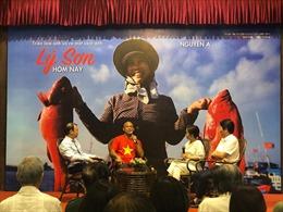 Triển lãm ảnh và ra mắt sách ảnh 'Lý Sơn - Hôm nay' của nhiếp ảnh gia Nguyễn Á