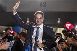 Thủ tướng đắc cử Kyriakos Mitsotakis cam kết 'thay đổi đất nước Hy Lạp'