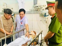 Thượng úy Nguyễn Trọng Quý đã qua cơn nguy kịch
