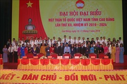 Ông Nguyễn Văn Dừa tái đắc cử Chủ tịch MTTQ Việt Nam tỉnh Cao Bằng