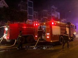 Cháy lớn tại khách sạn, kịp thời giải cứu hàng chục du khách