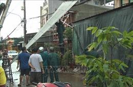 Dông lốc gây nhiều thiệt hại tại thị xã Hồng Ngự