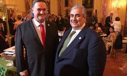 Lần đầu tiên, Ngoại trưởng Israel, Bahrain gặp nhau công khai tại Mỹ