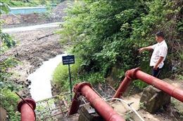 Nạo vét thi công thủy điện, cả trăm ha lúa thiếu nước