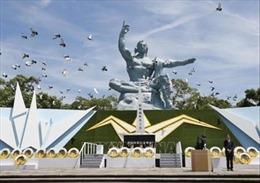 Lễ tưởng niệm 74 năm Mỹ ném bom nguyên tử xuống thành phố Nagasaki