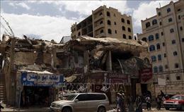 Liên quân Arab tấn công thành phố cảng Aden của Yemen