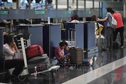 Sân bay quốc tế Hong Kong mở cửa trở lại