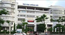 Bộ Giáo dục và Đào tạo chưa cấp phép cho Trường Đại học Đông Đô đào tạo văn bằng 2