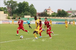 Sông Lam Nghệ An thua TP Hồ Chí Minh trên sân nhà
