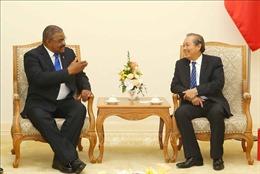 Phó Thủ tướng Trương Hòa Bình tiếp Chánh án Tòa án nhân dân tối cao Cuba