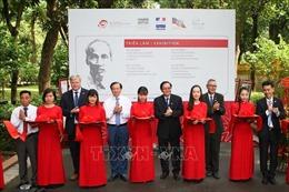 Triển lãm 'Hồ Chí Minh: Cuộc đời và sự nghiệp từ tài liệu lưu trữ Việt Nam và quốc tế'