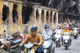 Vụ cháy Công ty Rạng Đông: Đang quan trắc chỉ số thủy ngân trong môi trường