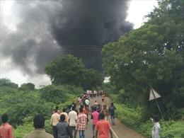 Nổ liên hoàn tại nhà máy hóa chất, 12 người thiệt mạng, 50 người bị thương