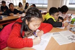 Lan tỏa phong trào học tiếng Việt tại CH Séc
