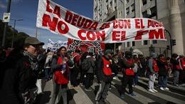 Biểu tình lớn yêu cầu chính phủ Argentina hỗ trợ người nghèo