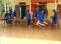 Hơn 2.000 thanh niên Hà Tĩnh giúp dân khắc phục hậu quả mưa lũ