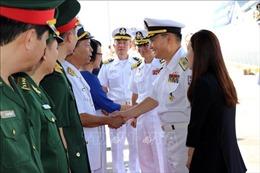 Tàu Hải quân Hàn Quốc thăm thành phố Đà Nẵng