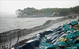 Sạt lở bờ biển ở đảo Phú Quốc