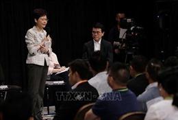 Bà Lâm Trịnh Nguyệt Nga: Hong Kong cần phải chấm dứt bạo lực