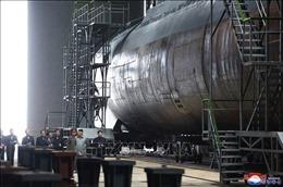 38 North: Triều Tiên tiếp tục đóng tàu ngầm tên lửa đạn đạo mới