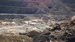 Sập mỏ vàng làm 14 người thiệt mạng, 3 người bị thương