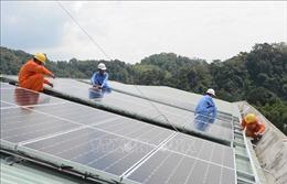 Mang điện mặt trời đến điểm trường vùng cao Quảng Nam