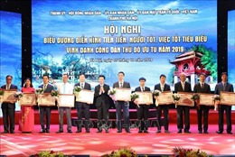 Hà Nội vinh danh 10 công dân Thủ đô ưu tú 2019