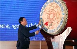 Phó Thủ tướng Vương Đình Huệ dự lễ Khai khóa Đại học Quốc gia TP Hồ Chí Minh
