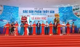 Khai mạc hội chợ sản phẩm thủy sản tại Hà Nội
