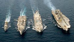 Ấn Độ, Thái Lan bắt đầu tập trận hải quân chung