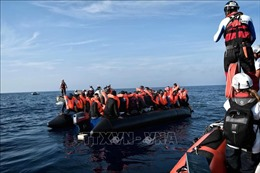 Hải quân Libya giải cứu gần 200 người di cư trên biển