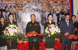 Triển lãm 70 năm quân tình nguyện và chuyên gia Việt Nam tại Lào