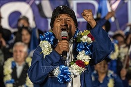 Tổng thống Bolivia Evo Morales tái đắc cử nhiệm kỳ thứ tư liên tiếp